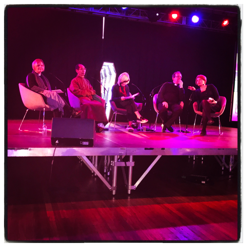 Panel discussion at the Belief and beyond belief festival.