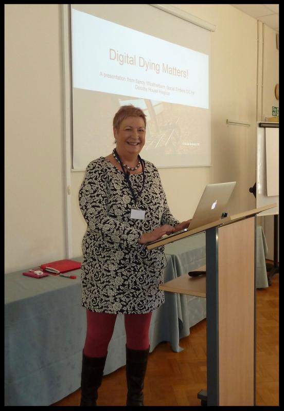 Sandy Weatherburn from Social Embers CIC