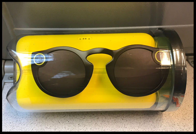 Black Snapchat Spectacles